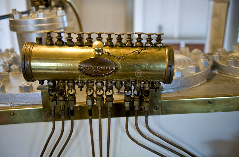 Graisseur de machine à vapeur photos libres de droits