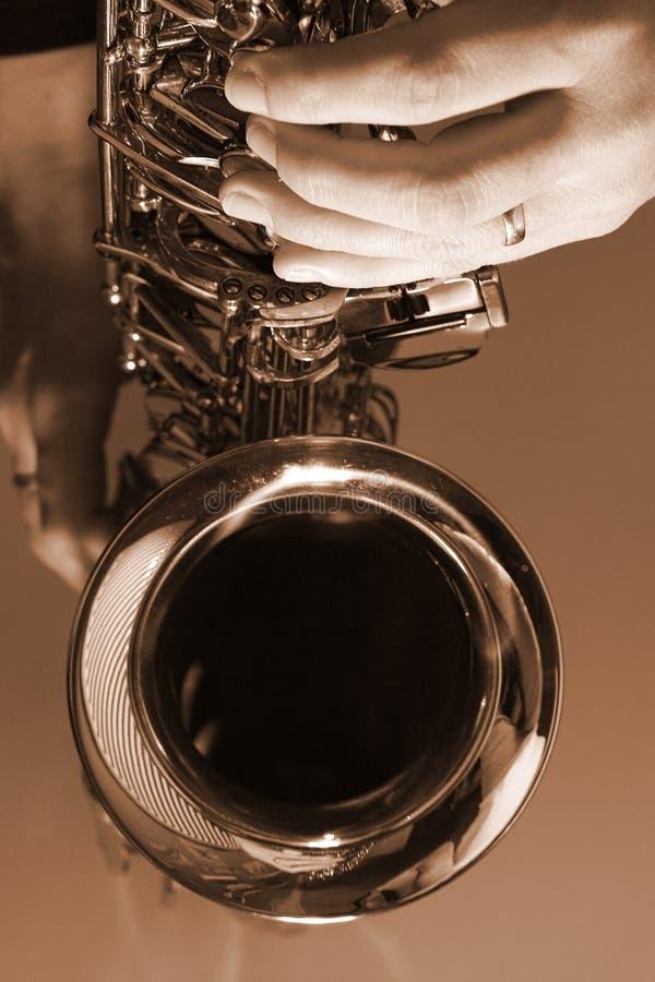 grają bluesa zdjęcie stock