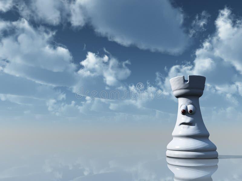 Grajo del ajedrez libre illustration