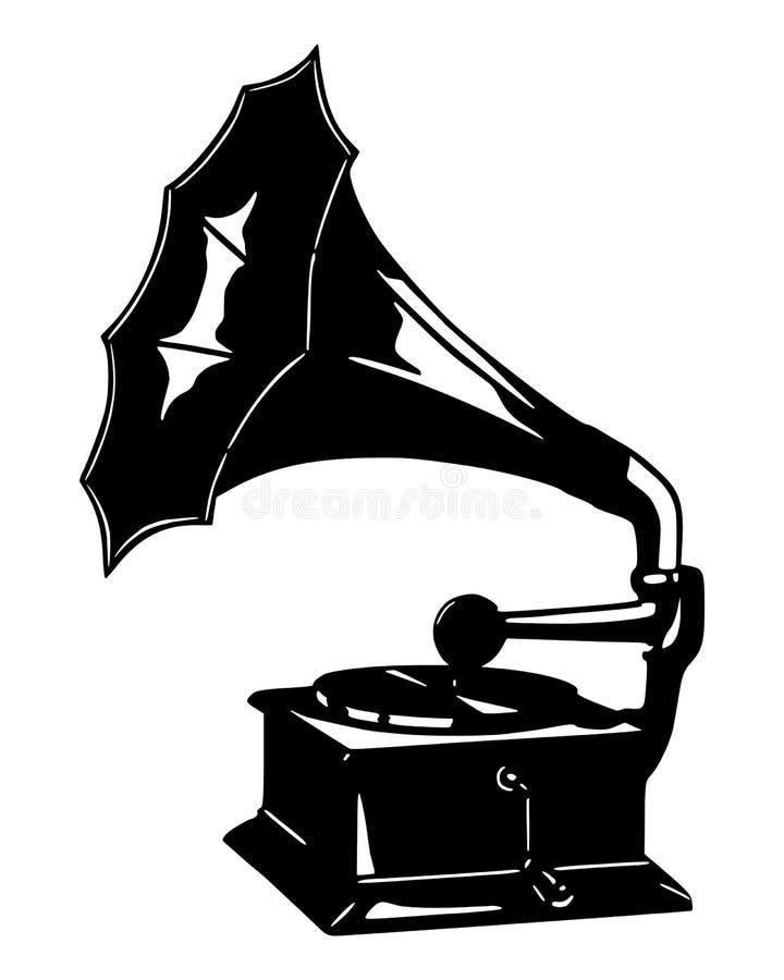 Gramófono libre illustration