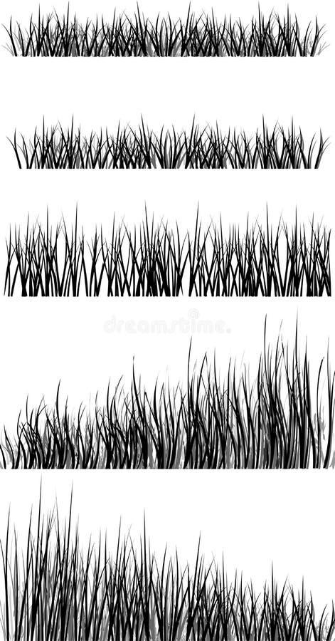 A grama ilustração stock