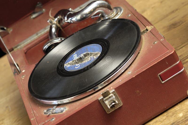 gramaphone 免版税库存图片
