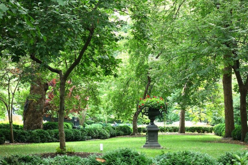 New York City Private Park royalty free stock photos