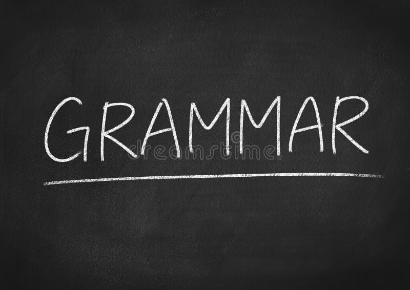 grammatik lizenzfreie stockfotografie