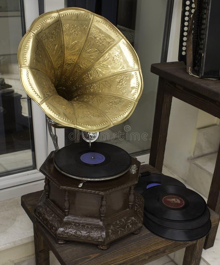 Download Grammofono fotografia stock. Immagine di designato, gioco - 55361964