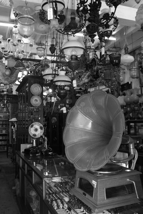 Grammofoon in Malacca royalty-vrije stock foto