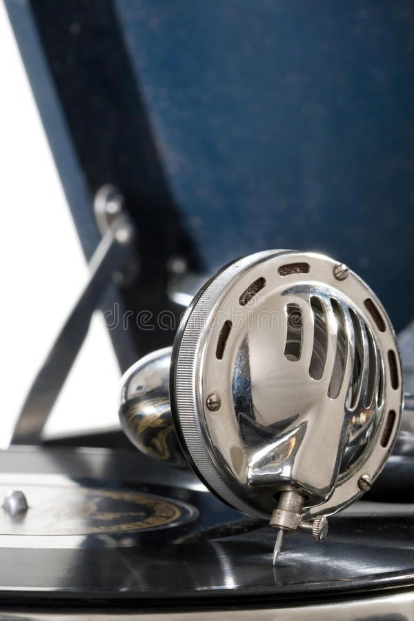 Grammophon stockfotos