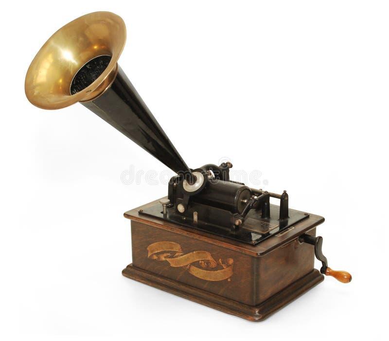 Grammophon stockbild