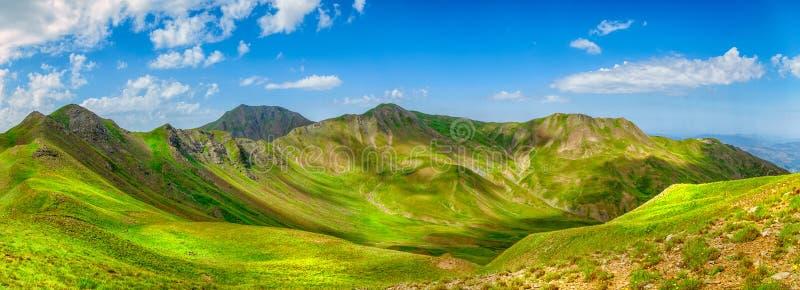 Grammos mountains stock image