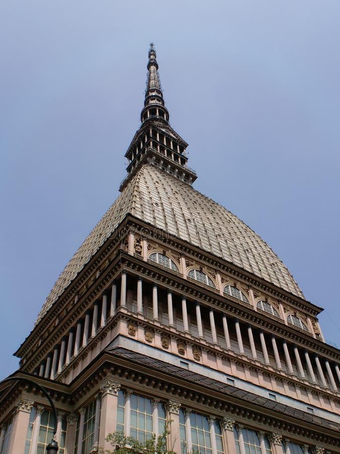 Gramocząsteczka Antonelliana turin fotografia stock