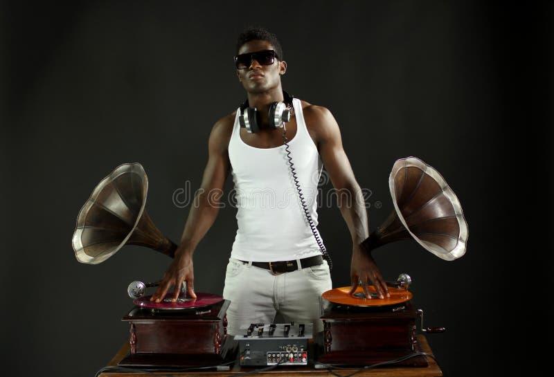 Gramofon dj zdjęcia royalty free