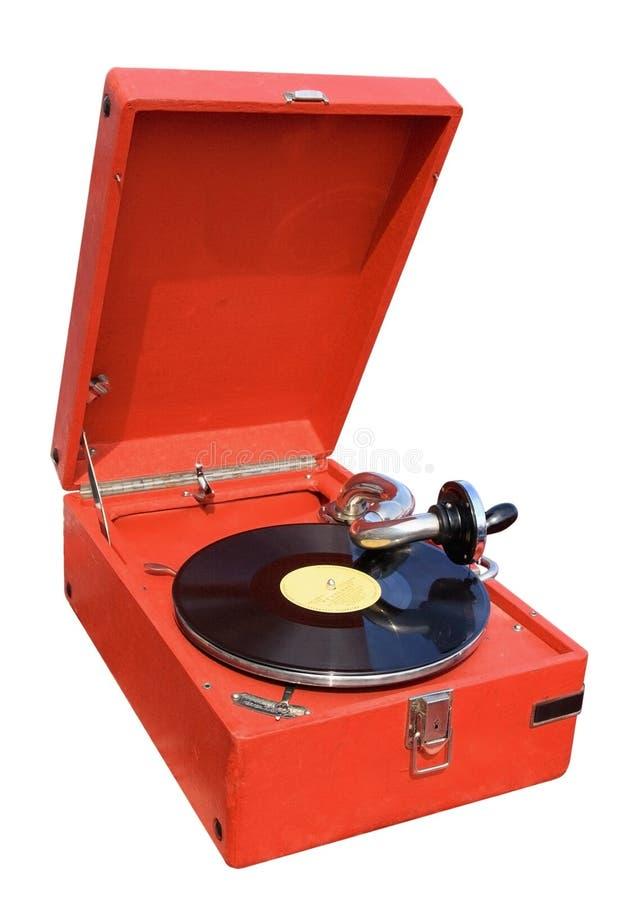 gramofon retro obraz stock