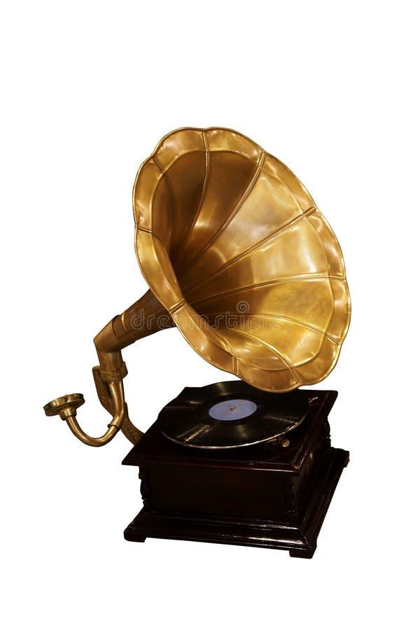 gramofon stary obrazy stock