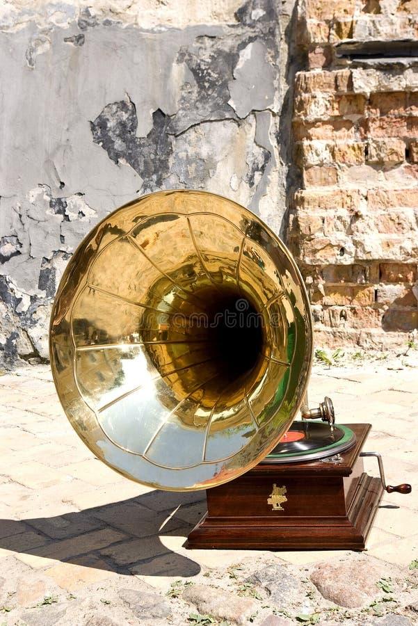 Gramofone retro imagens de stock royalty free