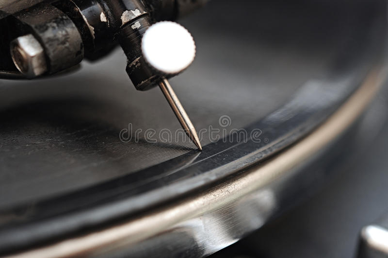 Gramophone βελόνα στοκ φωτογραφία με δικαίωμα ελεύθερης χρήσης