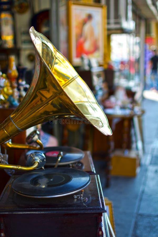 gramophone παλαιό στοκ εικόνα