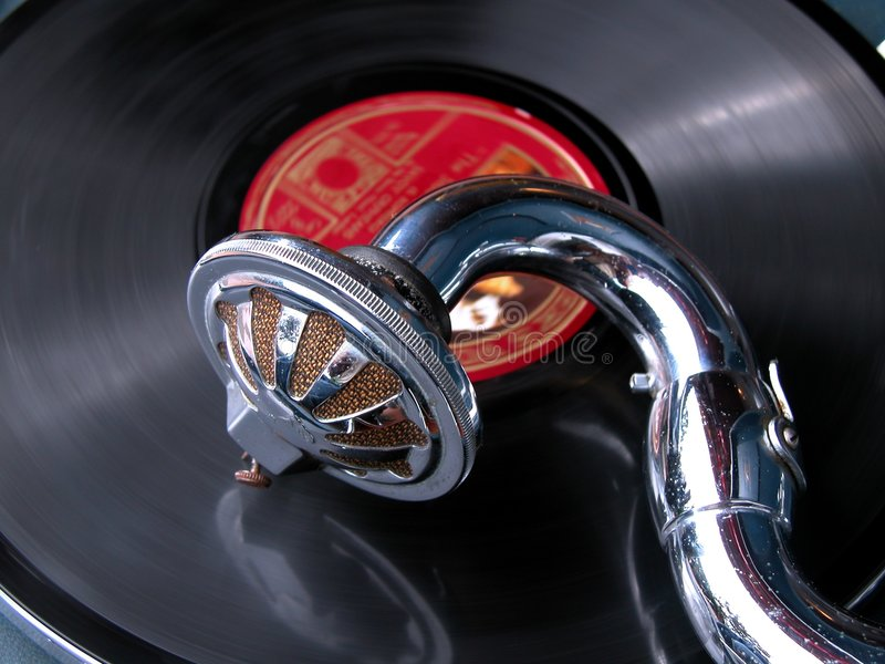 Download Gramophone stock photo. Image of songs, details, world - 151630