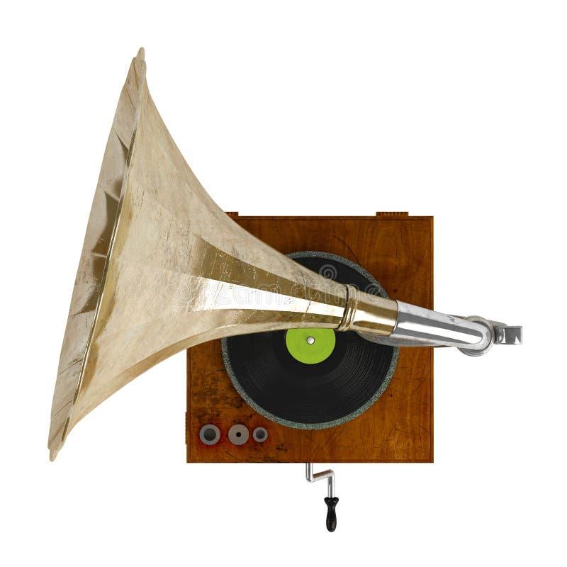 Download Gramophone stock illustration. Illustration of history - 23119376