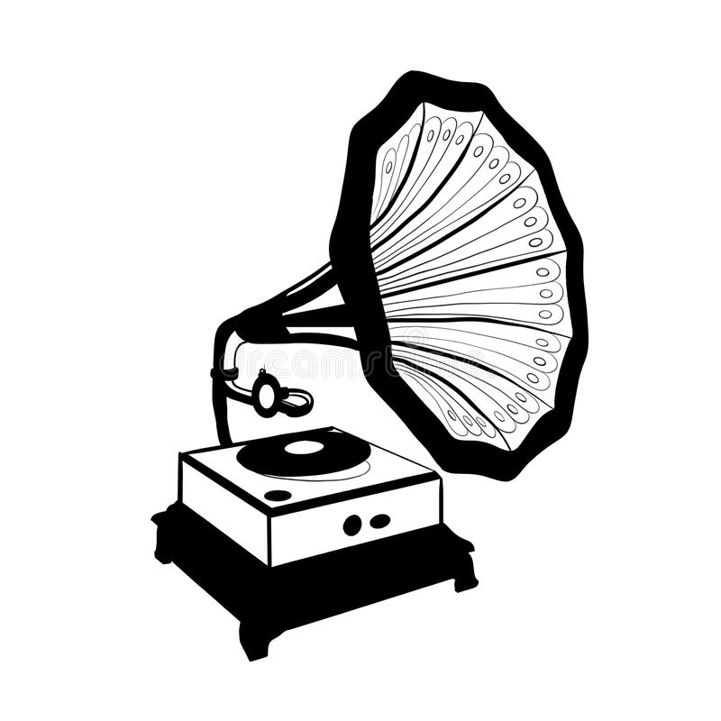 Gramophone stock photos