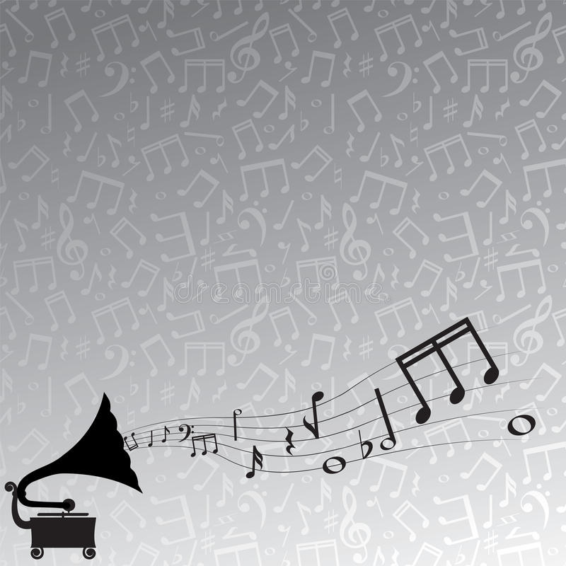 Gramophone and melody