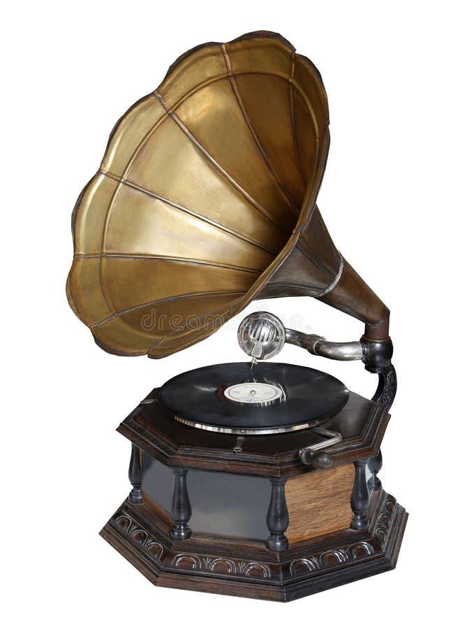 Gramophone2 imagem de stock royalty free