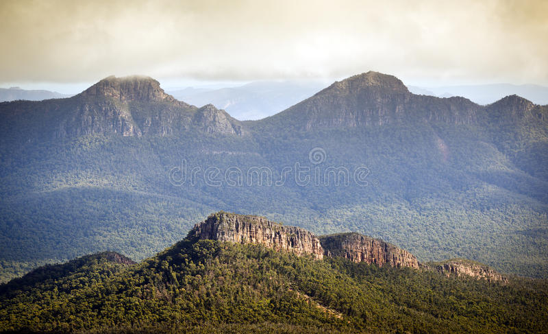 Grampians Australia imagen de archivo