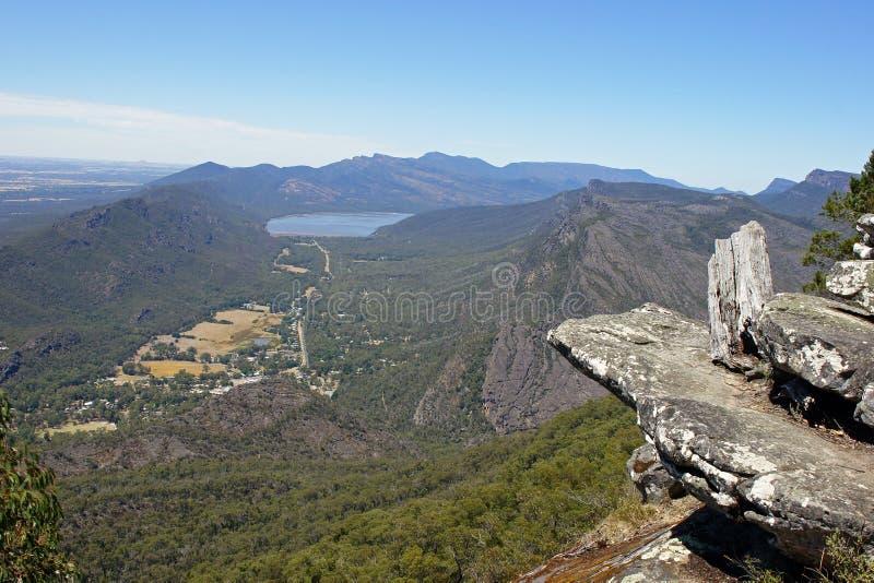 Grampians National Park, Australia. Boroka Lookout, Grampians National Park, Victoria, Australia stock images