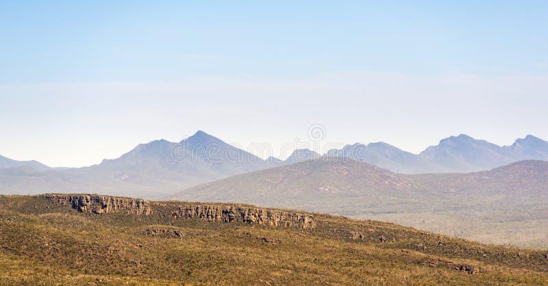 Grampians Mountains. Mountains in the Victoria Valley, Grampians National Park, Victoria, Australia stock photos