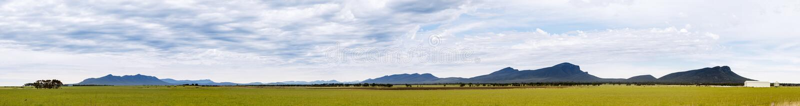 Grampians. Panorama of the Grampians National Park in Victoria, Australia stock photography