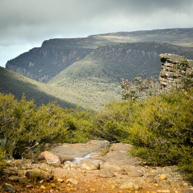 The Grampians, Victoria. Scenic views of the Grampians National Park in Western Victoria, Australia stock photos