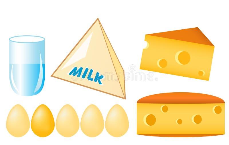 Grampo-arte do alimento ilustração stock