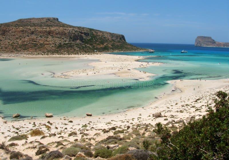 Gramvousa in Crete fotografia stock libera da diritti