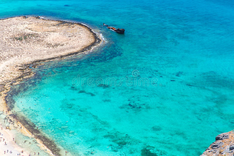 Download Gramvousa Island Near Crete, Greece. Balos Beach. Magical Turquoise Waters, Lagoons, Beaches Stock Image - Image: 38139705