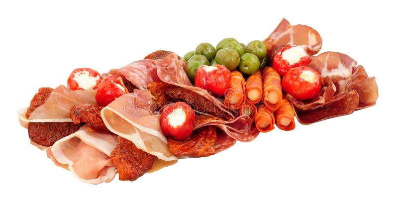 Gran Antipasto Snack Selection stock photography