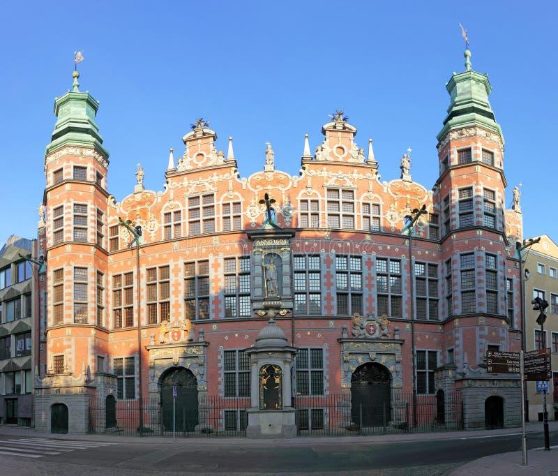 Gran arsenal en Gdansk fotografía de archivo libre de regalías