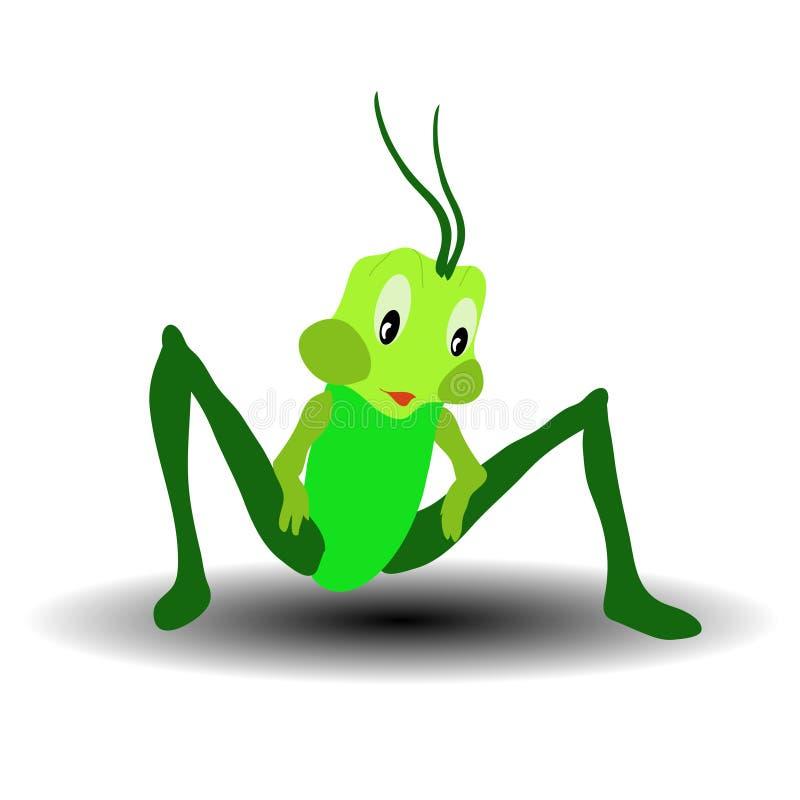 Gran Bush-grillo verde imagen de archivo libre de regalías