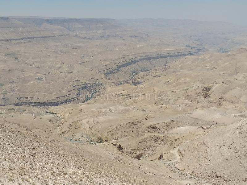 Gran Cañón de Jordanië 3 foto de archivo