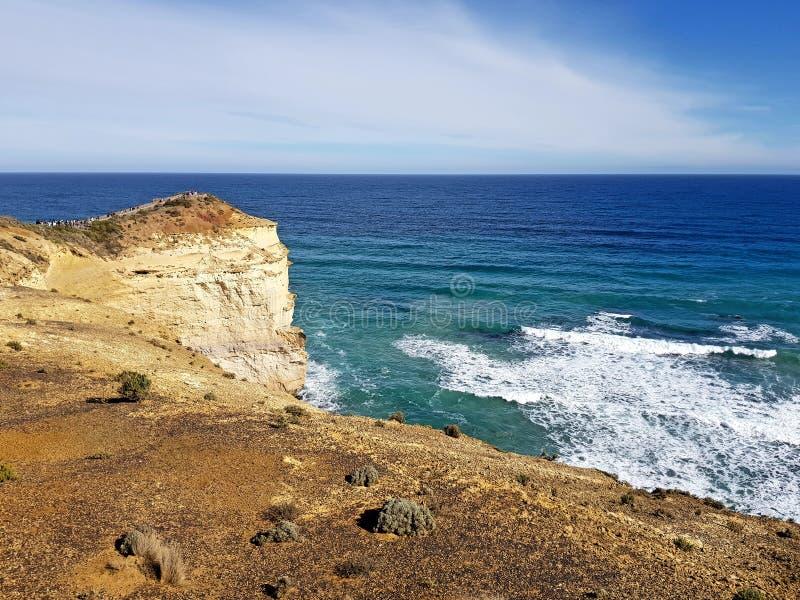 Gran camino Australia del océano imágenes de archivo libres de regalías