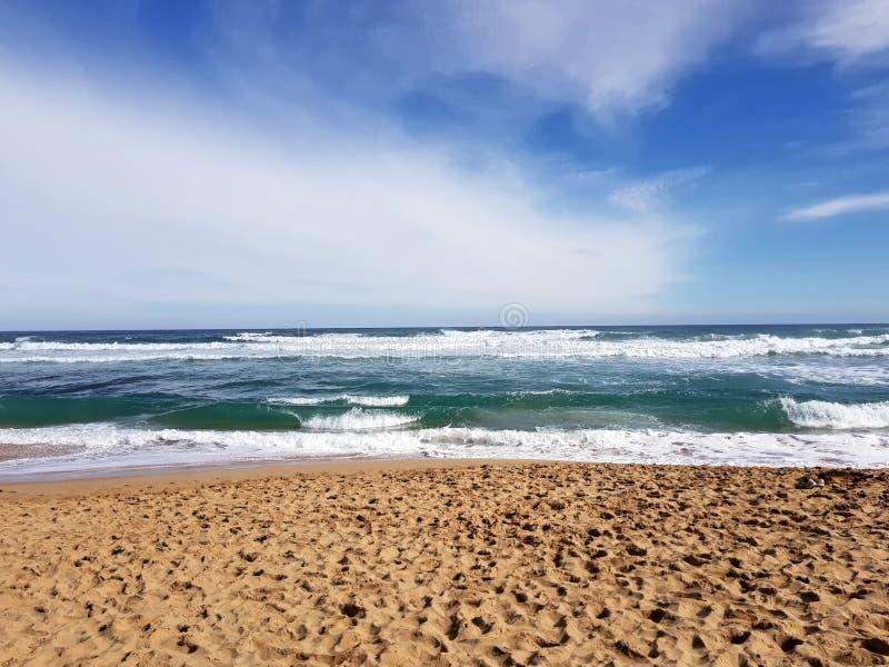 Gran camino Australia del océano fotos de archivo