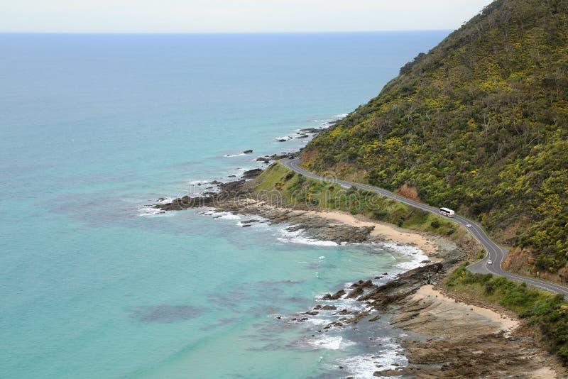 Gran camino del océano imagenes de archivo