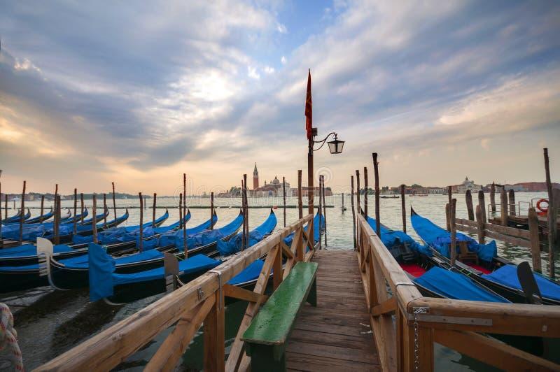 Gran Canal en Venecia, Italia foto de archivo libre de regalías