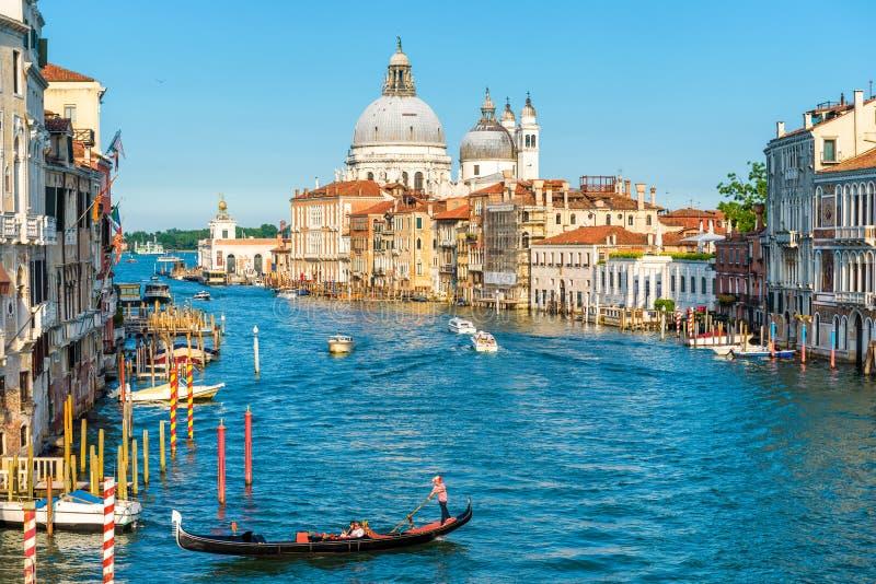 Gran Canal en Venecia, Italia imagen de archivo libre de regalías