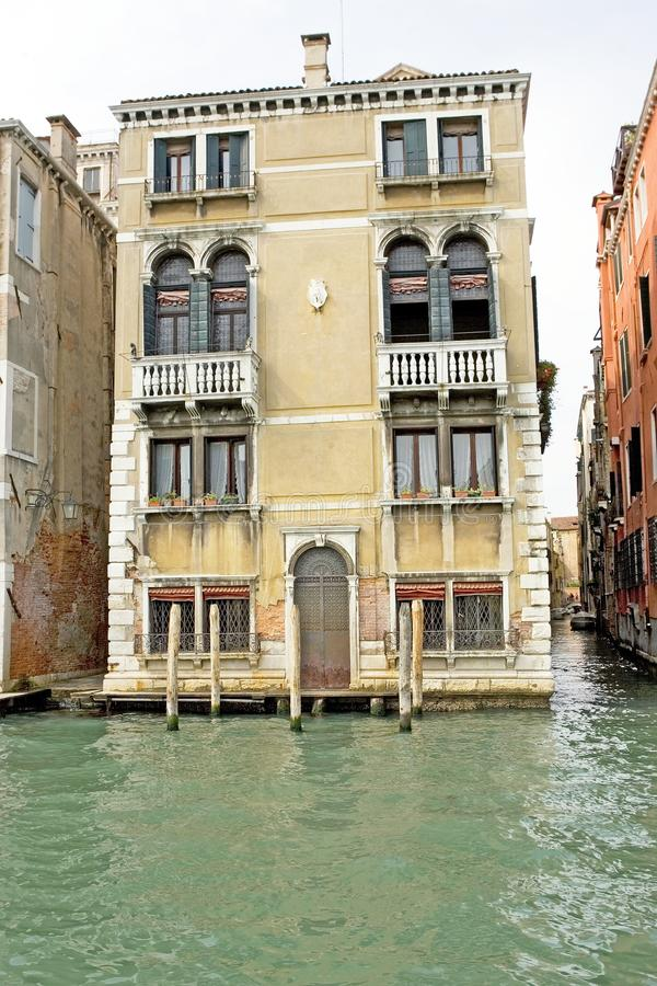 Gran Canal And Historic Buildings Editorial Photo