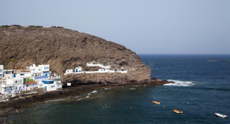 Gran Canaria, Бухта Playa de Tufia стоковое фото rf