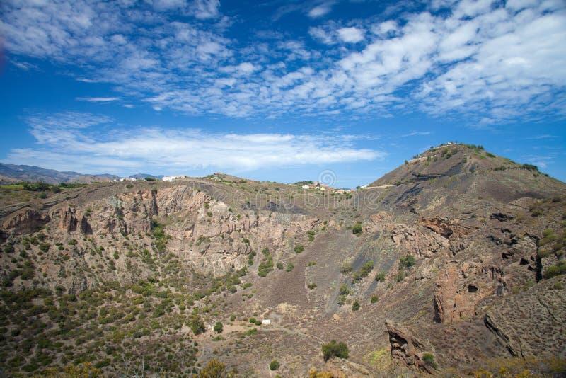Gran Canaria, Кальдера de Bandama стоковые изображения