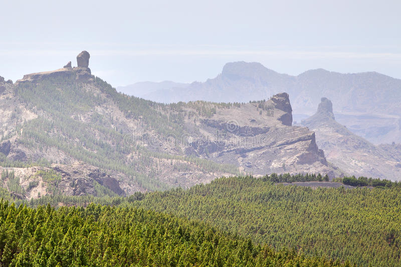 Download Gran Canaria stock image. Image of roque, blue, nieves - 25906117