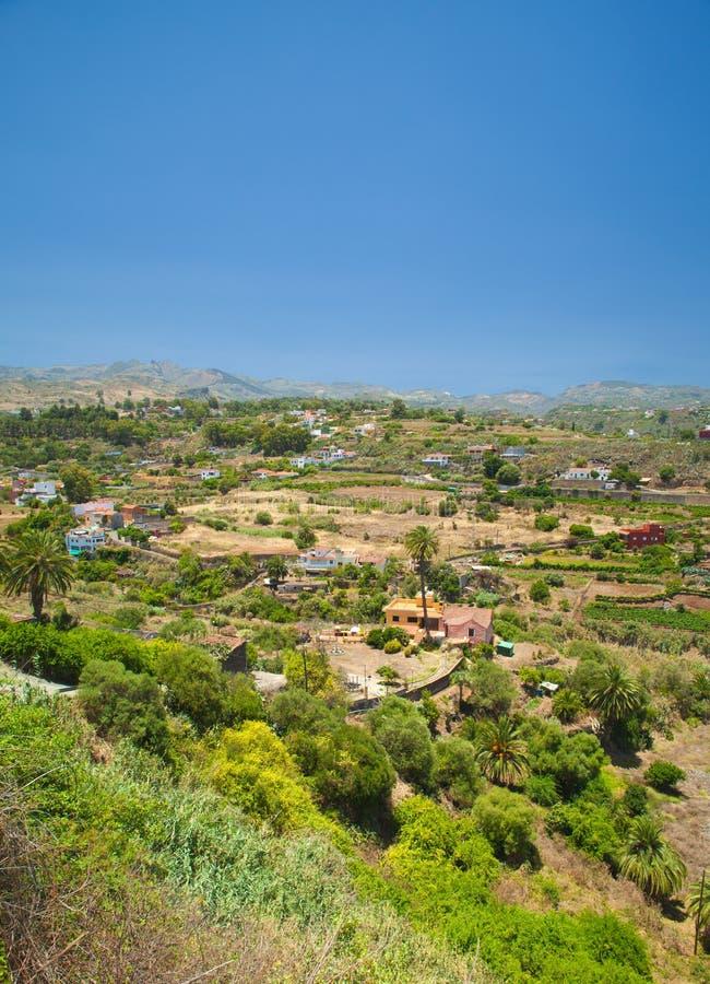 Gran Canaria, Barranco de Santa Brigida fotografering för bildbyråer