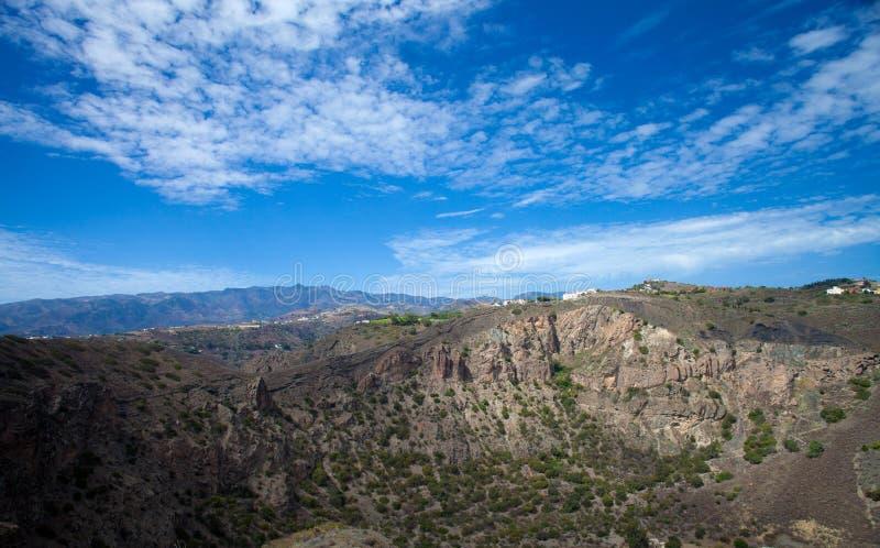 Gran Canaria, Caldera de Bandama fotos de archivo libres de regalías