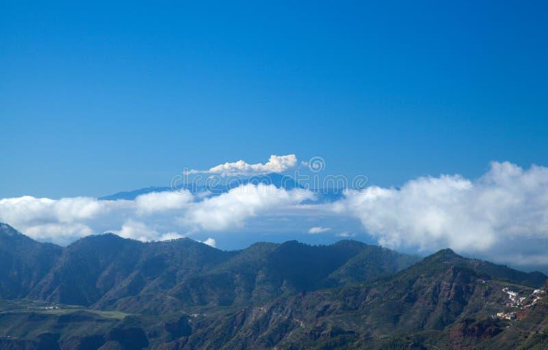 Gran Canaria, Caldera de Tejeda royaltyfria bilder
