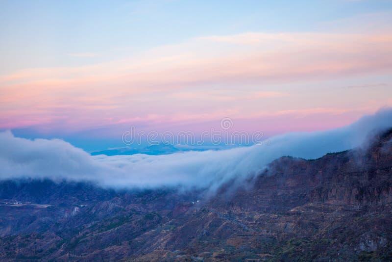 Gran Canaria, Caldera de Tejeda, otta royaltyfri fotografi